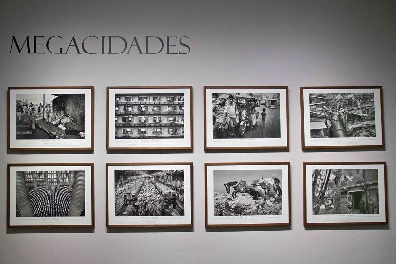 Lançamento da exposição Êxodos, de Sebastião Salgado, na
