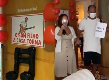 Mestre Bimba, do Harmonia do Samba, recebe alta hospitalar