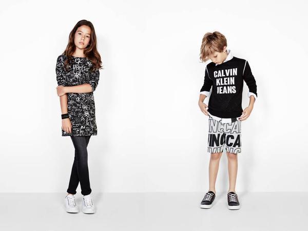 bf3117bf7edcf Calvin Klein Kids apresenta sua nova coleção