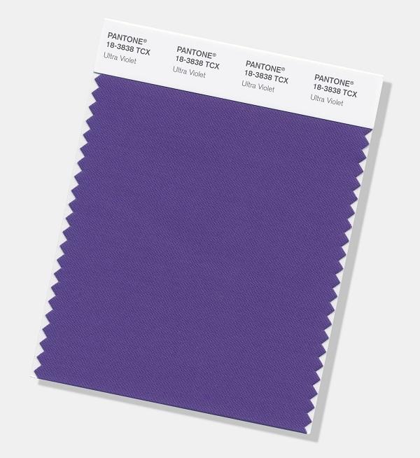 Pantone 18 3838 ultra violet a cor de 2018 for Agenda pantone 2018