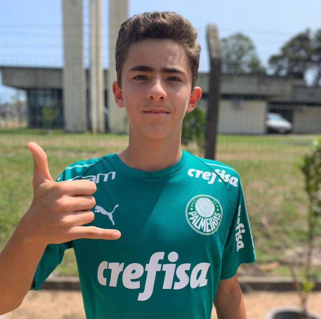 Neto de Paulo Souto é convocado para defender Seleção Brasileira Sub-15
